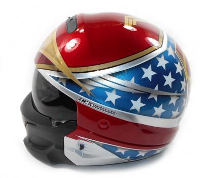 Custom Painted Helmet Gallery Wonder Woman Custom Helmet